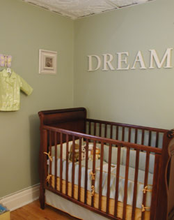 staging baby nursery