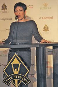 Debra Gould Stevie Awards Speech
