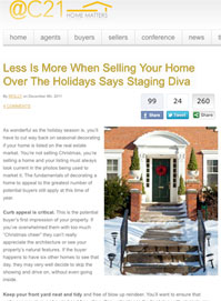 staging diva for Century21
