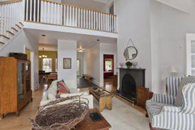 home staging great room