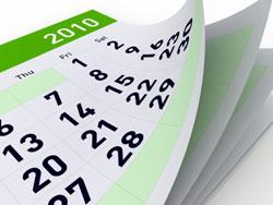 Real estate calendars
