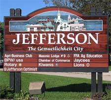 Jefferson Wisconsin staging