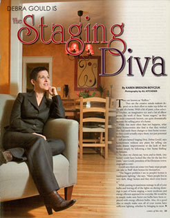 Debra Gould, The Staging Diva