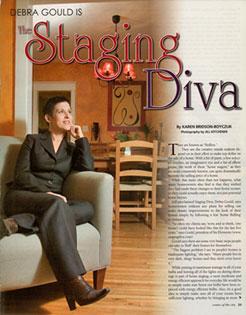 Debra Gould, The Staging Diva