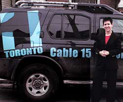 Debra Gould on Toronto 1 TV