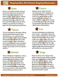 horoscope for home stagers