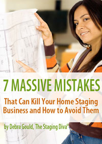 7 Massive Mistakes that can Kill your Home Staging Business