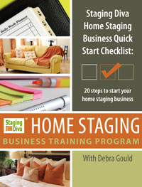 staging diva home staging business training course. Black Bedroom Furniture Sets. Home Design Ideas