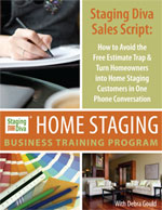 sales script for home stagers